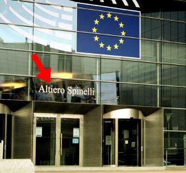 Altiero Spinelli - Parlament Europejski - Krzysztof Karoń